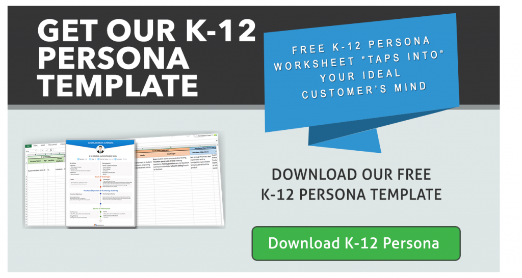 Download K-12 Persona Template