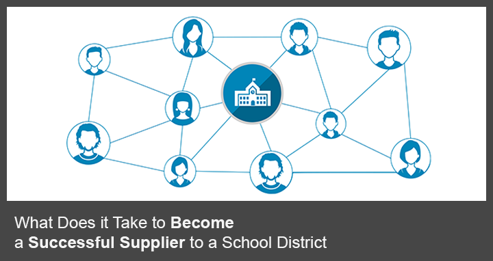 What does it take to become a successful supplier to a school district