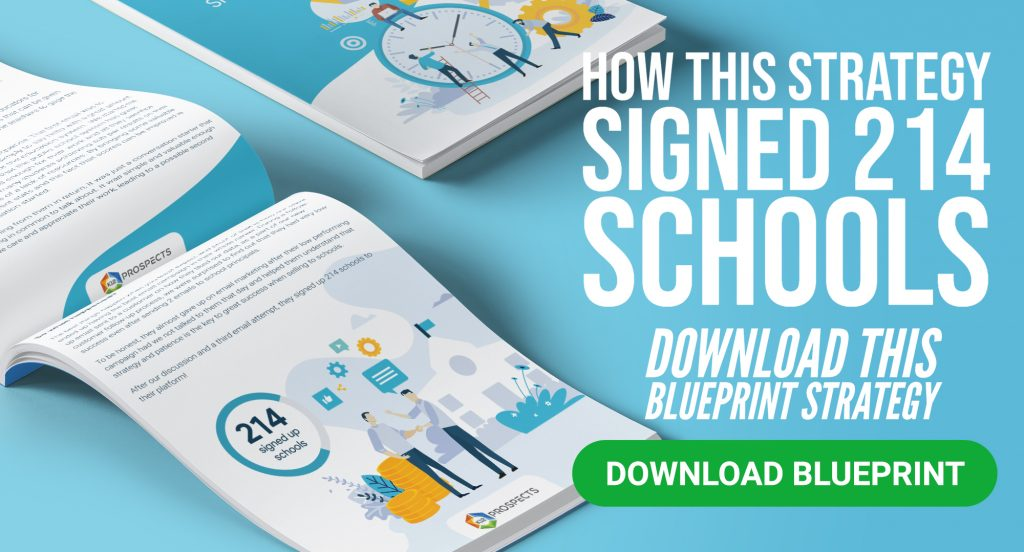 CTA - Blueprint Strategy - How this strategy signed 214 schools