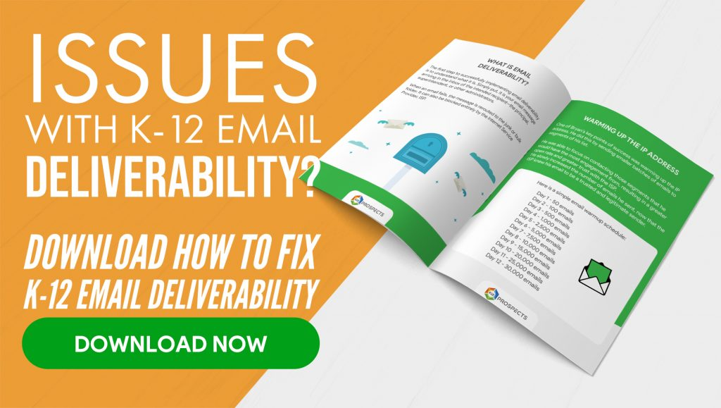 CTA - How to fix K-12 Email Deliverability