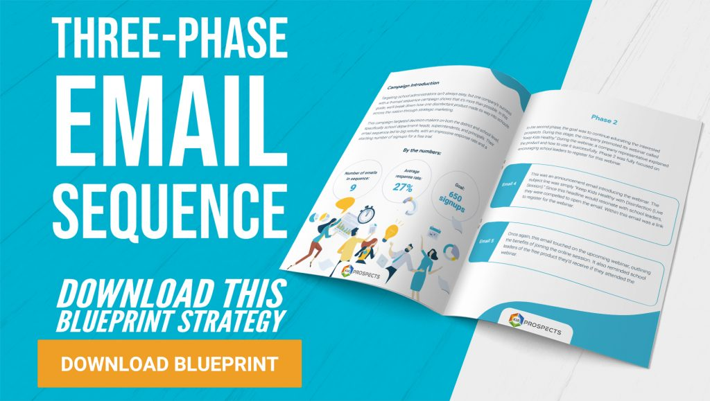 CTA - Blueprint Strategy 2 - Three phase Email Sequence