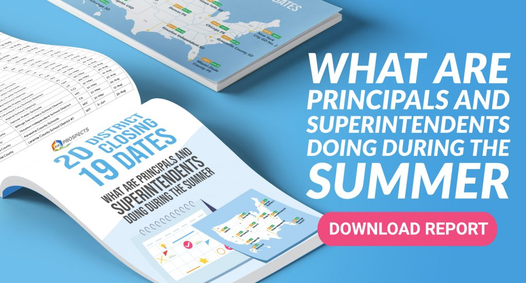 What are Principals and Superintendents Doing During the Summer
