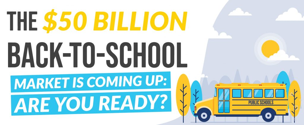 Top Image - The $50 Billion Back-to-School Market Is Coming Up Are You Ready