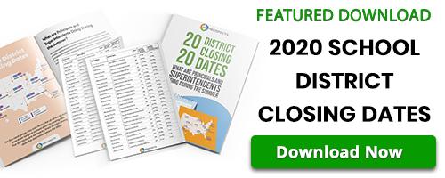 BoxZilla - 2020 School District Closing Dates