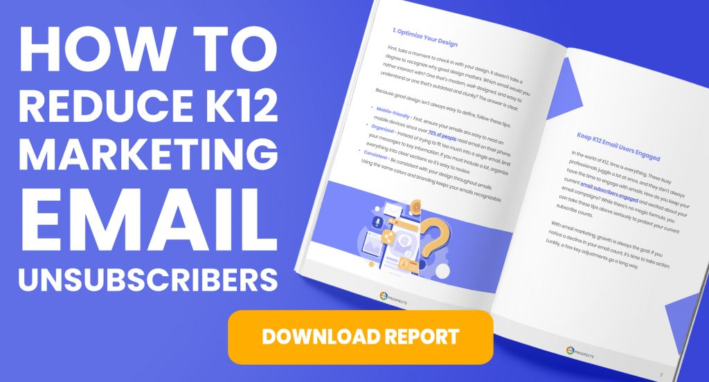 CTA How to Reduce K12 Marketing Email Unsubscribers
