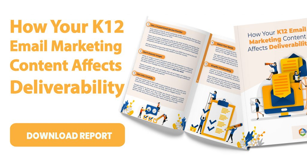 CTA How Your K12 Email Marketing Content Affects Deliverability