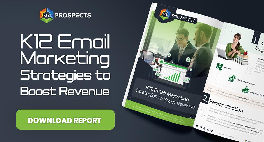 CTA K12 Email Marketing Strategies to Boost Revenue